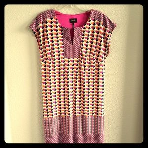 Laundry geometric summer dress